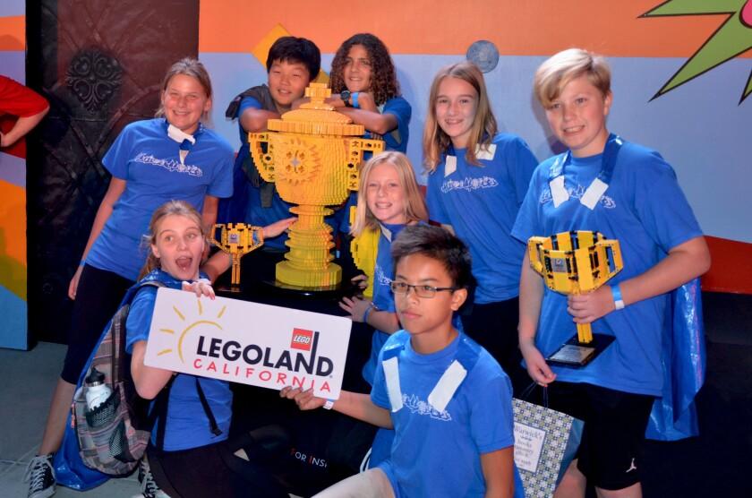 La Jolla team advances to First Lego League World