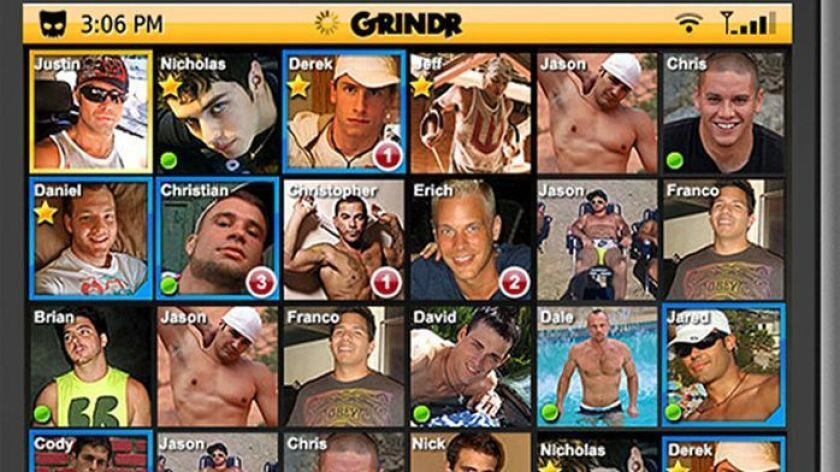 Grindr is among the apps available to those looking to hook up.