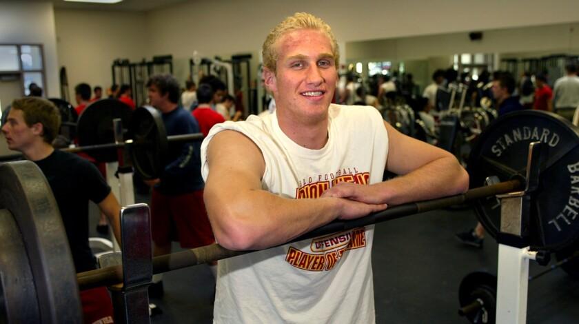 Konrad Reuland at Mission Viejo High School in 2004.