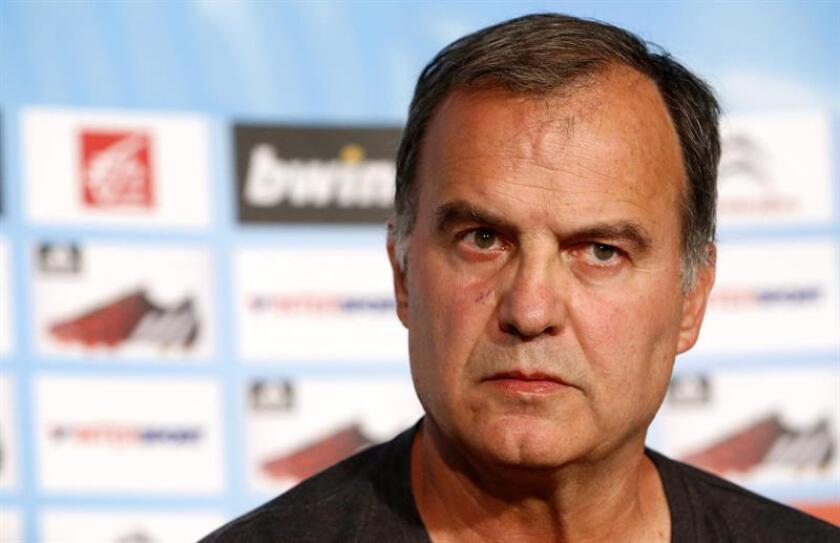 Fotografía de archivo del entrenador argentino Marcelo Bielsa. EFE/Archivo