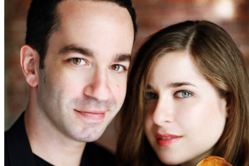 Pianist Inon Barnatan and cellist Alisa Weilerstein, his longtime musical partner, will perform together as part of the 2019 edition of the La Jolla Music Society's annual SummerFest.