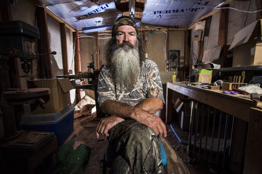 "Phil Robertson stars in ""Duck Dynasty."" The network that airs the show, A&E, received a failing grade for representation of lesbian, gay, bisexual and transgender people on television"