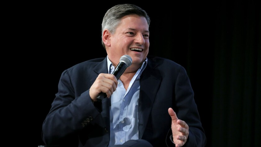 Netflix Chief Content Officer Ted Sarandos was named the streaming giant's co-CEO on Thursday.