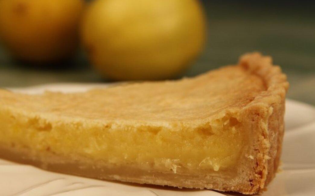 Lazy Mary's lemon tart