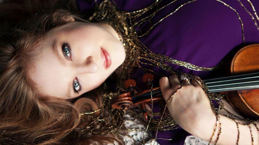 Rachel Barton Pine performs Saturday with Pasadena Symphony.