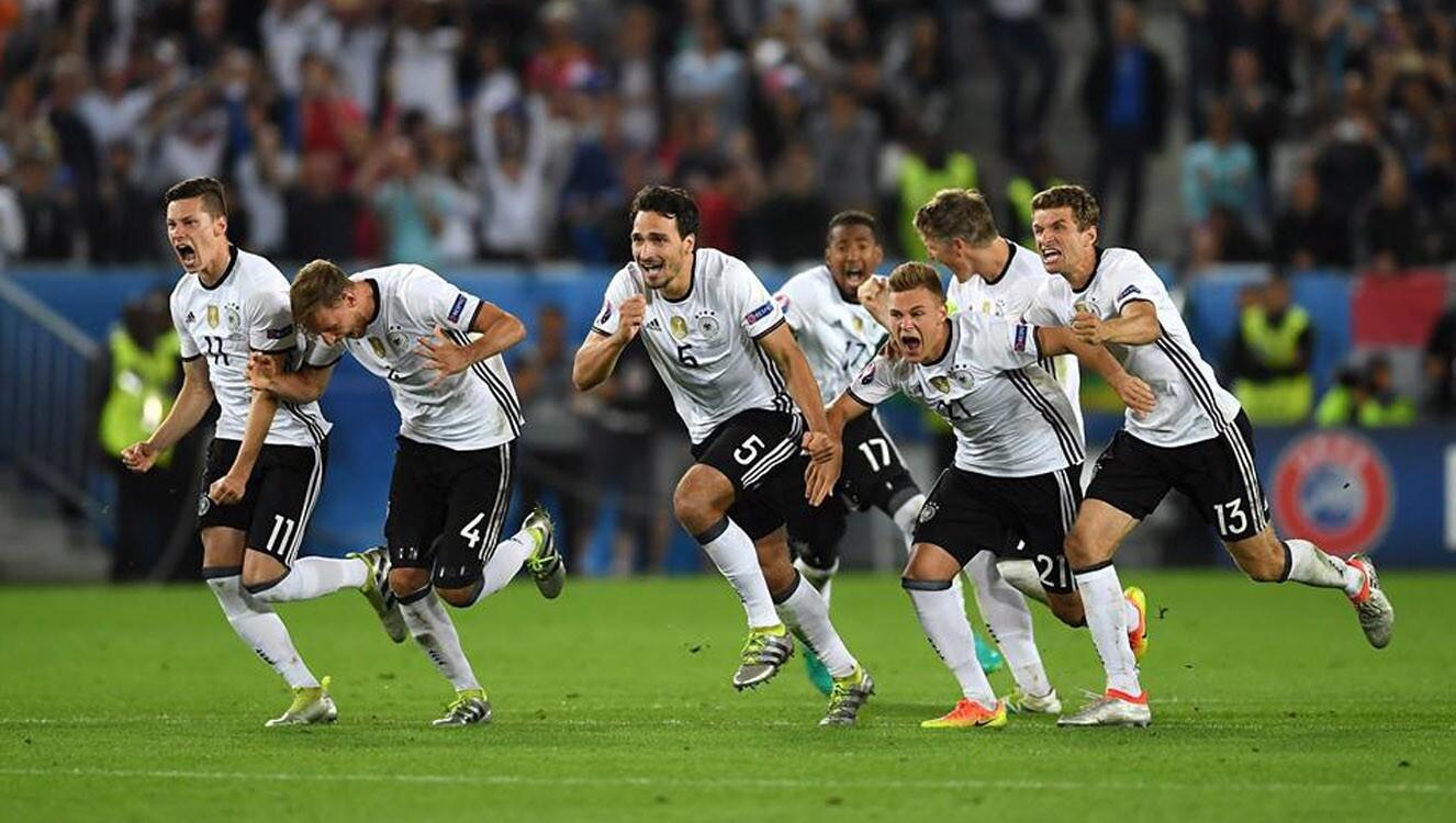 Por primera vez en nueve enfrentamientos en los grandes torneos, Alemania emergió victoriosa en un partido contra Italia.