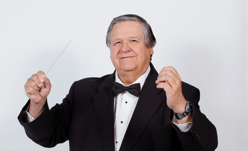 Daniel Swem is conductor of the North Coast Symphony Orchestra.