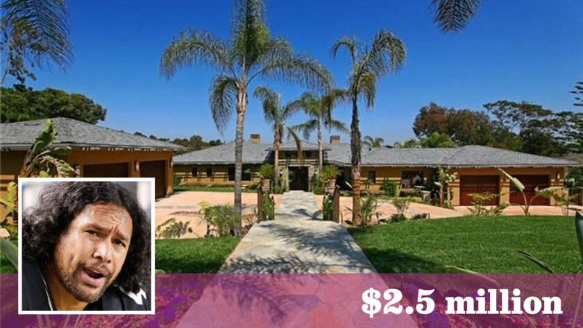 The Pittsburgh Steelers safety sold his La Jolla home on 1.75 acres for $2.5 million.