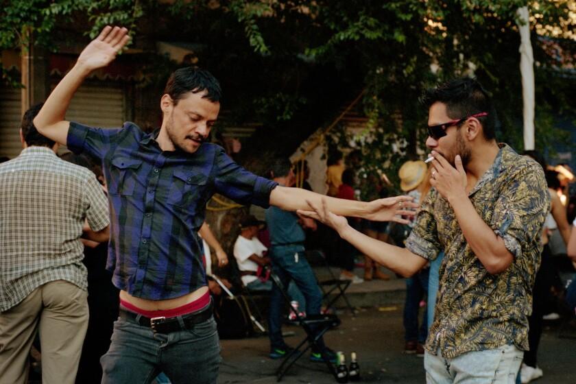 June 9, 2019 - Mexico City, Mexico: Dancing at Cañita Fest. (Mallika Vora)