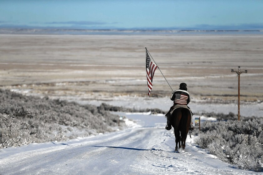 Occupation at Malheur wildlife refuge
