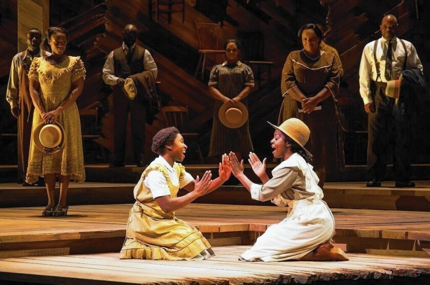 Review: 'Color Purple; musical on Broadway