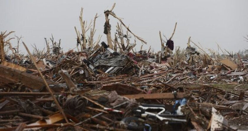 Oklahoma's tornado and political cheap shots