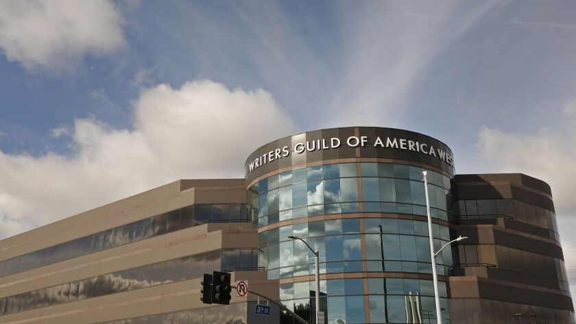 LOS ANGELES, CA - MARCH 28, 2019 Building at 7000 West 3rd Street in the Fairfax area of Los Angel