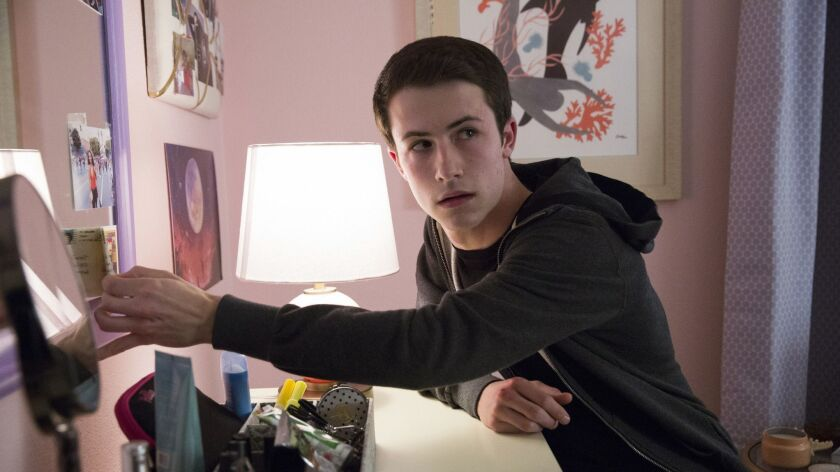 """Dylan Minnette in a scene from the second season of the Netflix series """"13 Reasons Why."""""""