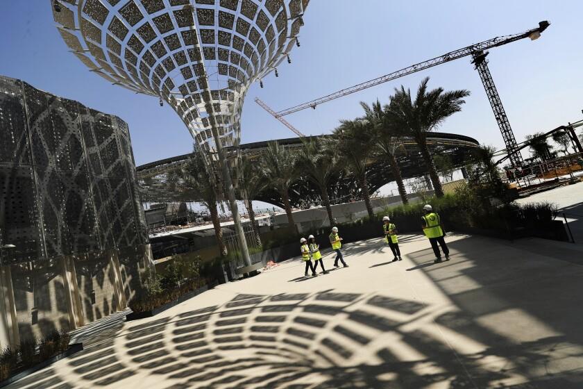 Virus Outbreak Dubai Expo