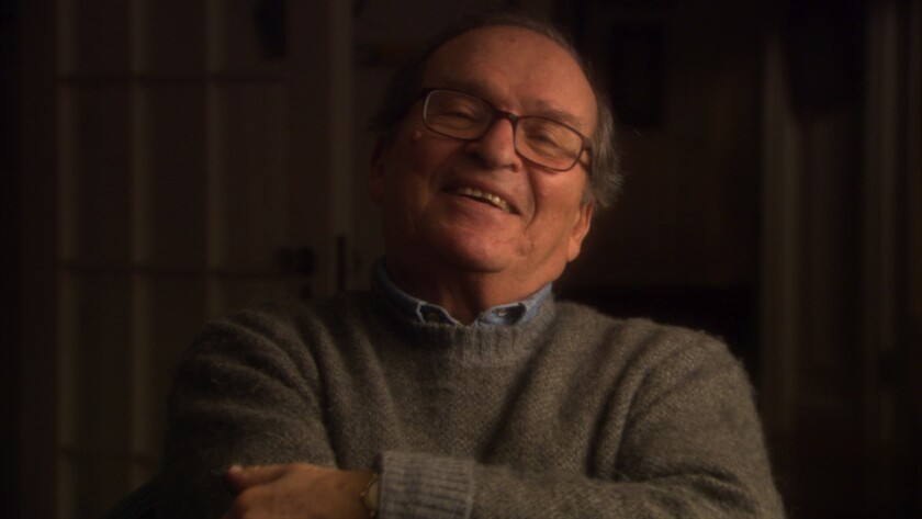 """The late director Sidney Lumet can be seen in the documentary """"By Sidney Lumet."""""""