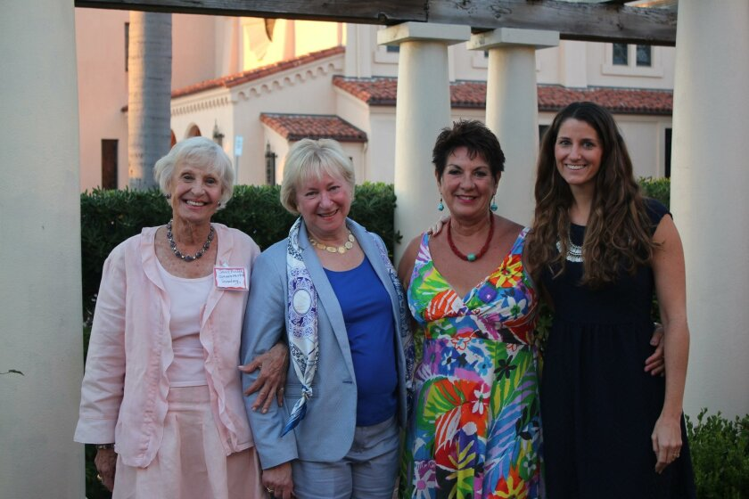 Sally Fuller, Martha Dennis, Nayda Locke, Heather Richmond