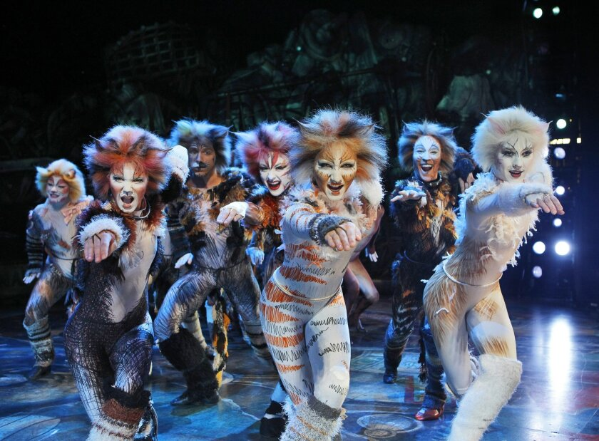 Eons ago, the ancestors of modern-day cats walked upright and wore naturally occurring Ugg boots. This musical is their story.