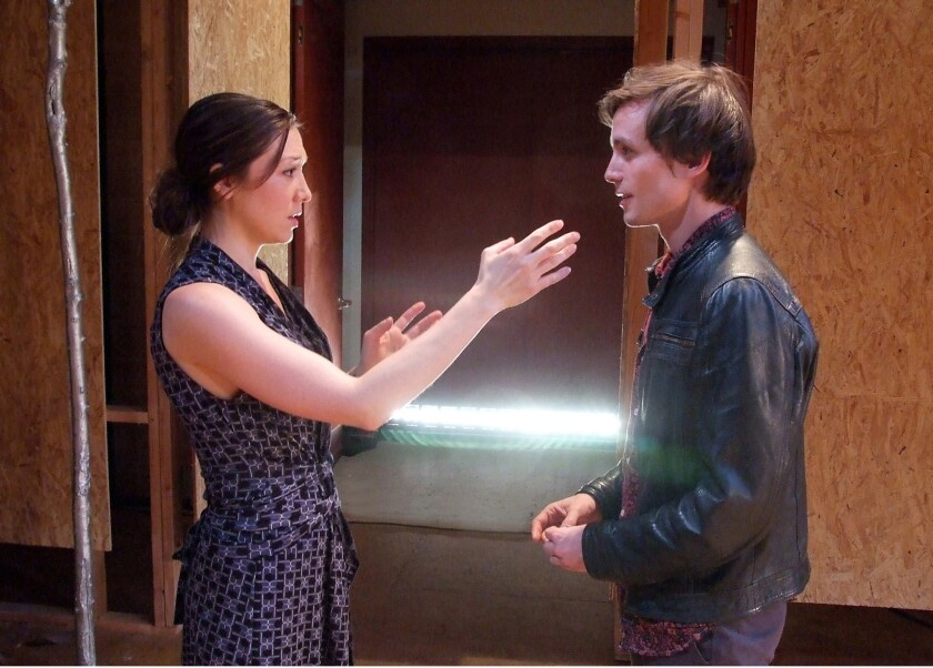 "Zarah Mahler and Will Bradley star in ""Stupid ... Bird."""