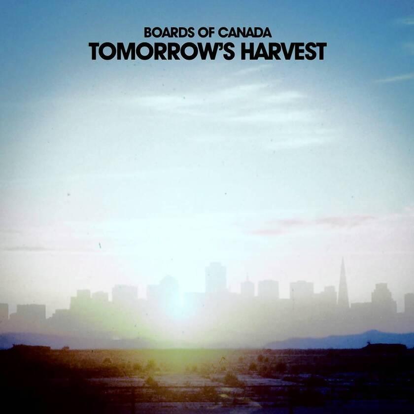 "Boards of Canada album ""Tomorrow's Harvest."""