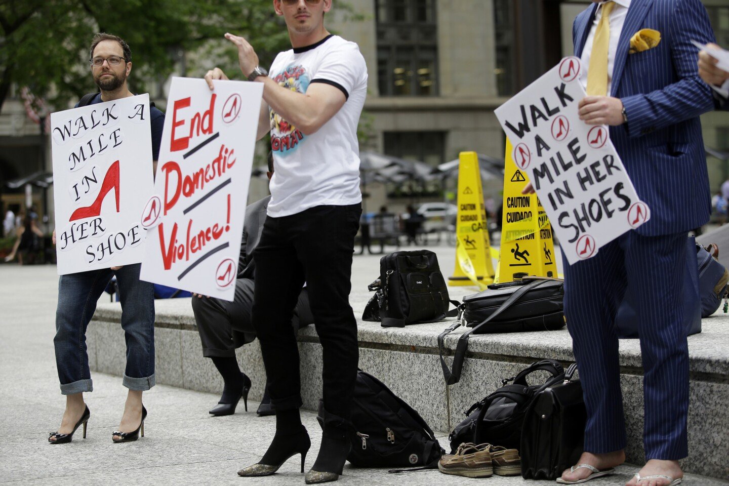 Chicago's Walk a Mile in Her Shoes