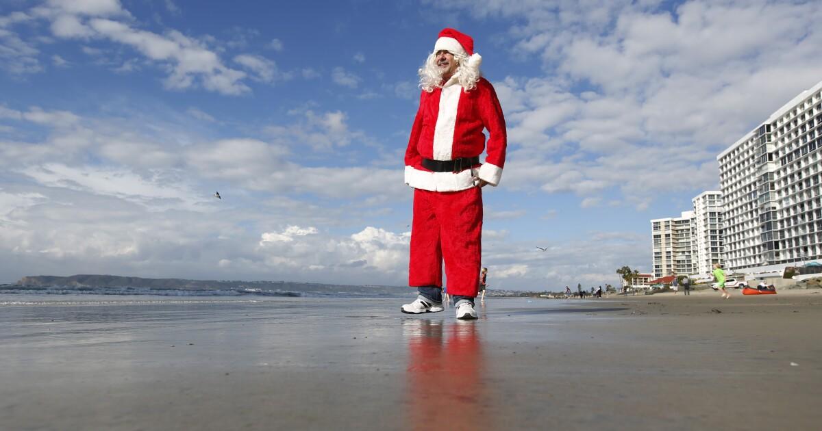 Πιο κρύα καταιγίδα του έτους να κάνουμε λευκά Χριστούγεννα δυνατόν για Southland