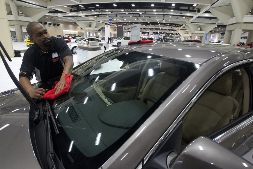 The San Diego International Auto Show takes place each December.