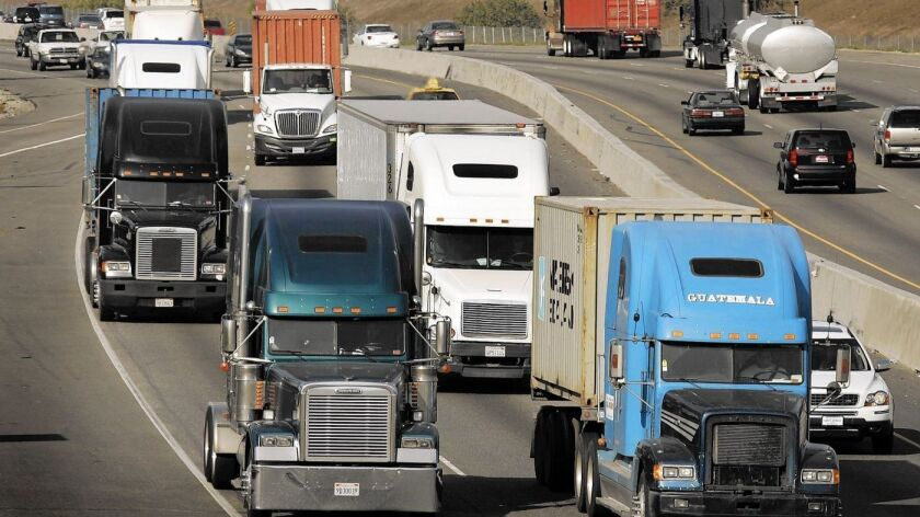 Stuck in traffic? Trucks are major cause of bottlenecks on