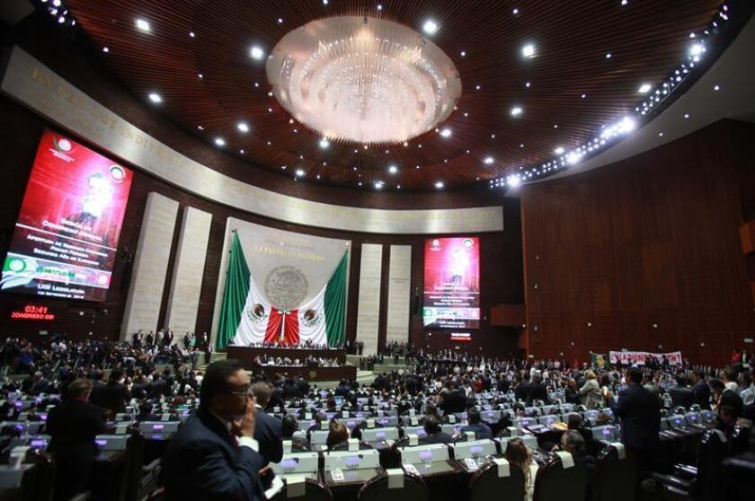 Vista general durante una sesión plenaria en la Cámara de Diputados en México. EFE/Archivo