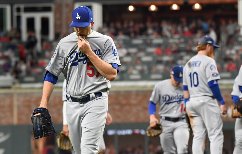 Dodgers fail to put away Braves in Game 3