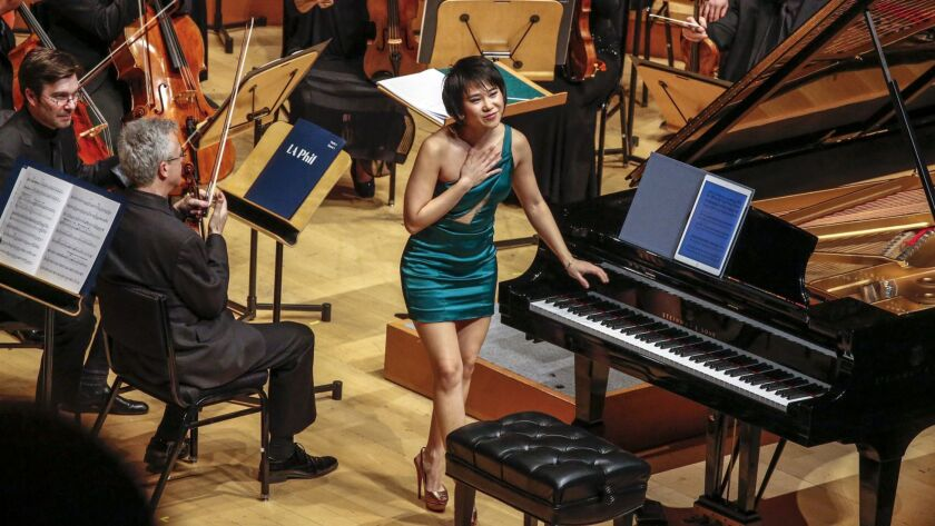 9 best things to do in L.A., including Yuja Wang in concert and an Irish 'Swan Lake'