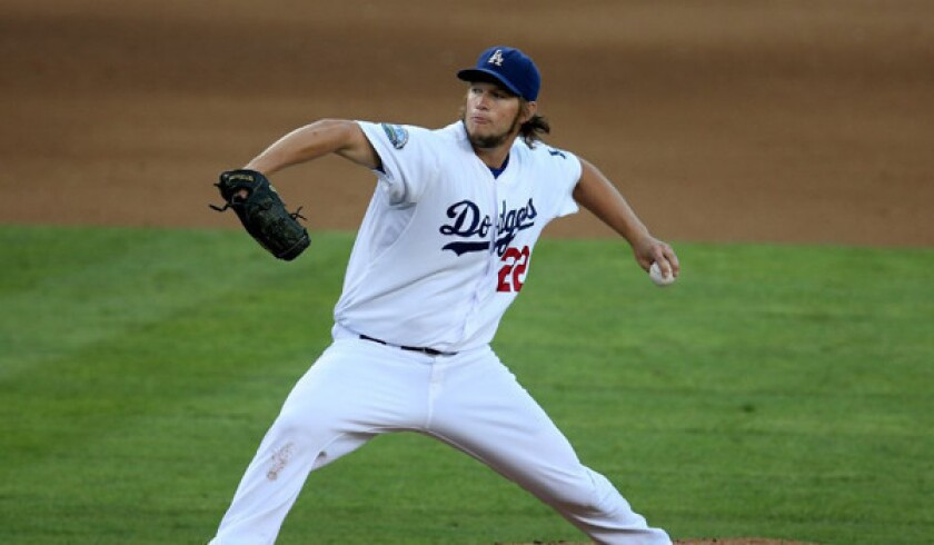 Dodgers' Clayton Kershaw one of three finalists for NL Cy Young