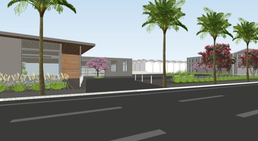 Newport Village rendering