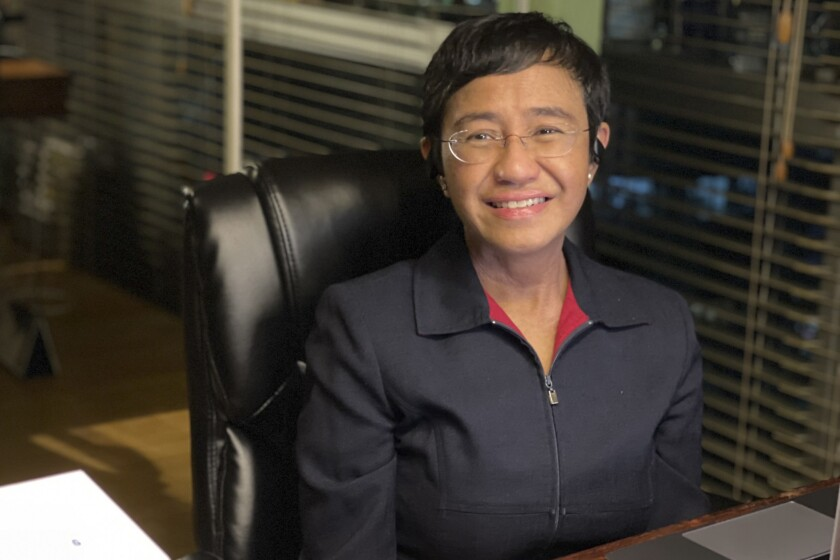 Rappler CEO and Executive Editor Maria Ressa