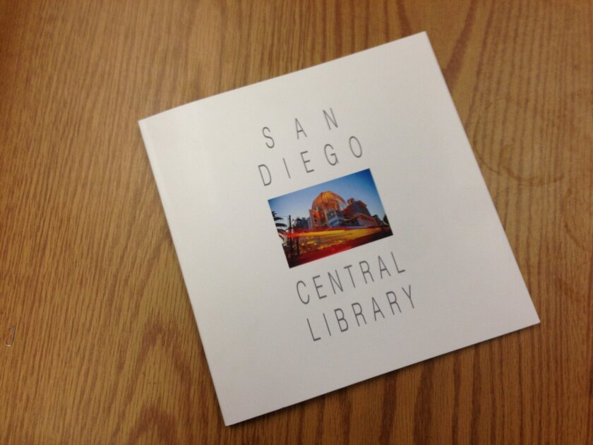 """A new limited edition of 100 copies of """"San Diego Central Library"""" is available from the library gift shop. It's all pictures and drawings. Cost $35.00 with net proceeds benefiting the library."""