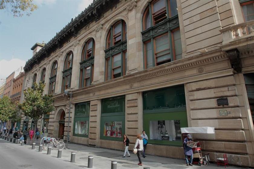 Fotografía del 9 de agosto de 2018, que muestra el edificio Boker, en Ciudad de México (México). EFE