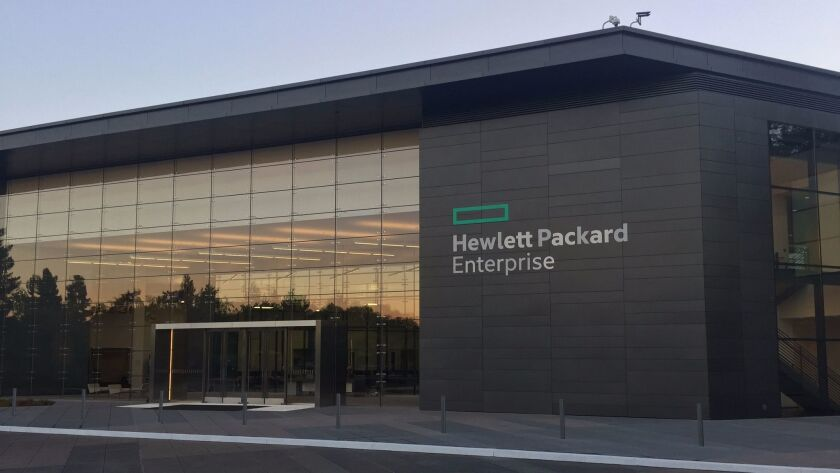 Hewlett Packard Enterprise quarter results