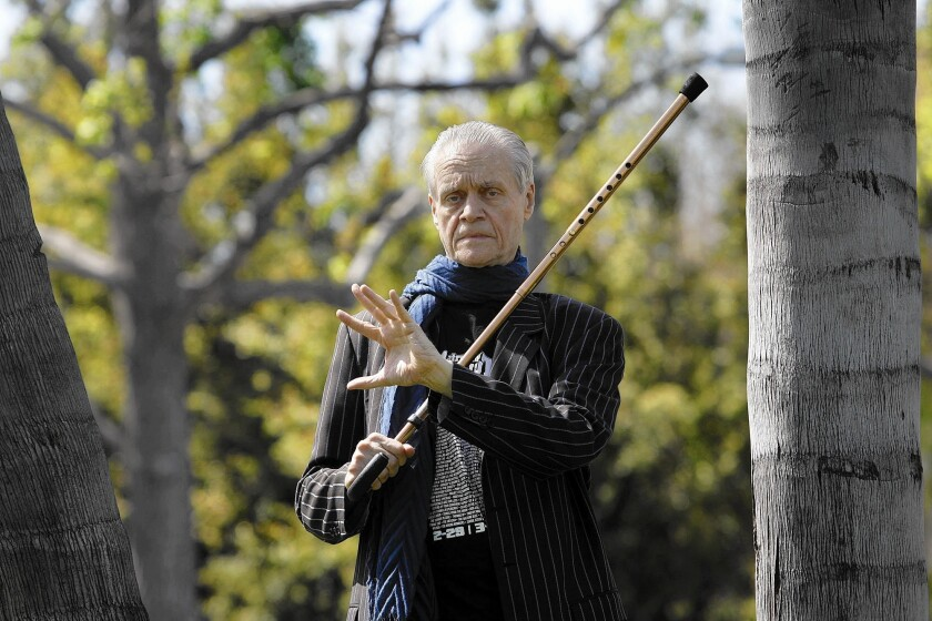 Kim Fowley in 2012; the colorful and controversial music producer died Thursday at age 75 after a long battle with bladder cancer.