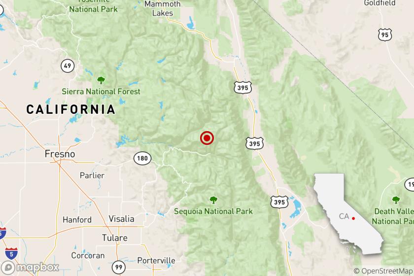 Earthquake: 4.9 quake hits near Dinuba, Calif.