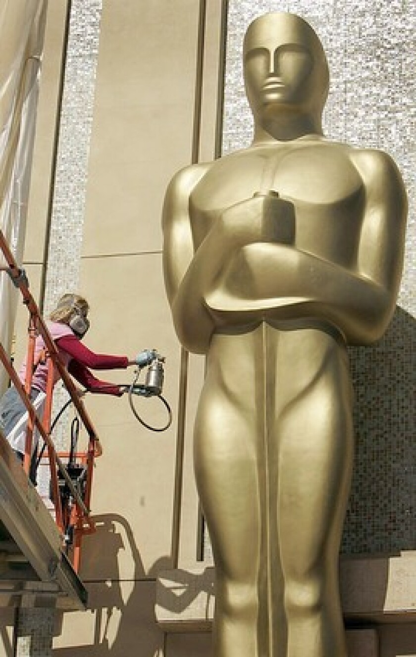 Oscar en el Dolby Theatre de Hollywood.