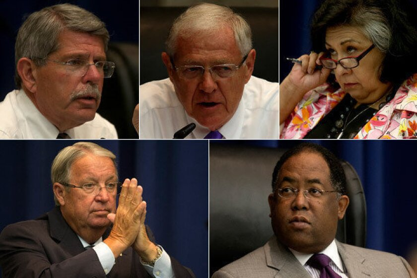 L A  County Board of Supervisors: 5 jobs politicians especially