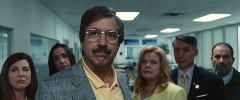 """Ray Romano, front, in """"Bad Education"""" (2019)."""