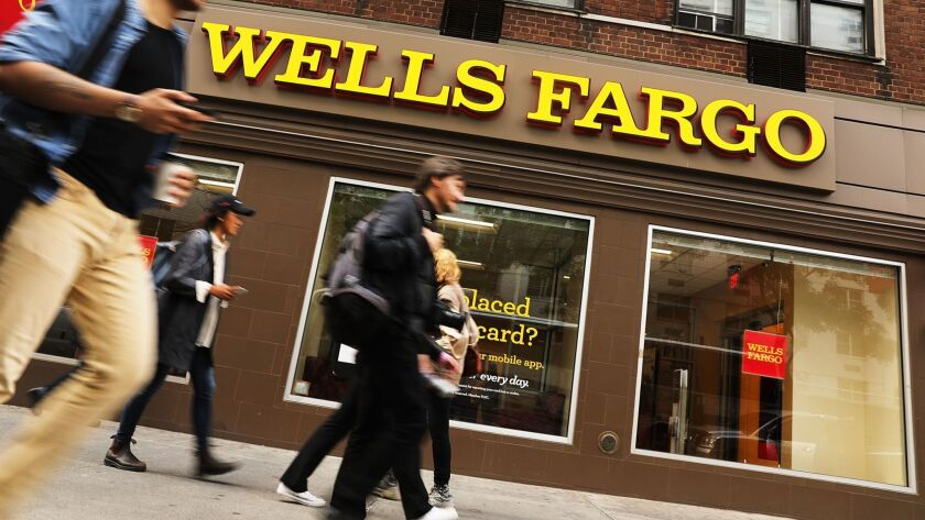 FILE -Wells Fargo Announce Plans To Cut Up to 10% Of Workforce Wells Fargo Quarterly Earning Deliver Disappointing Result