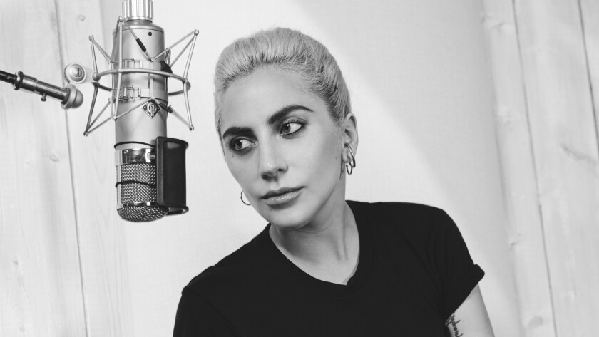 "Lady Gaga's new album is ""Joanne."""