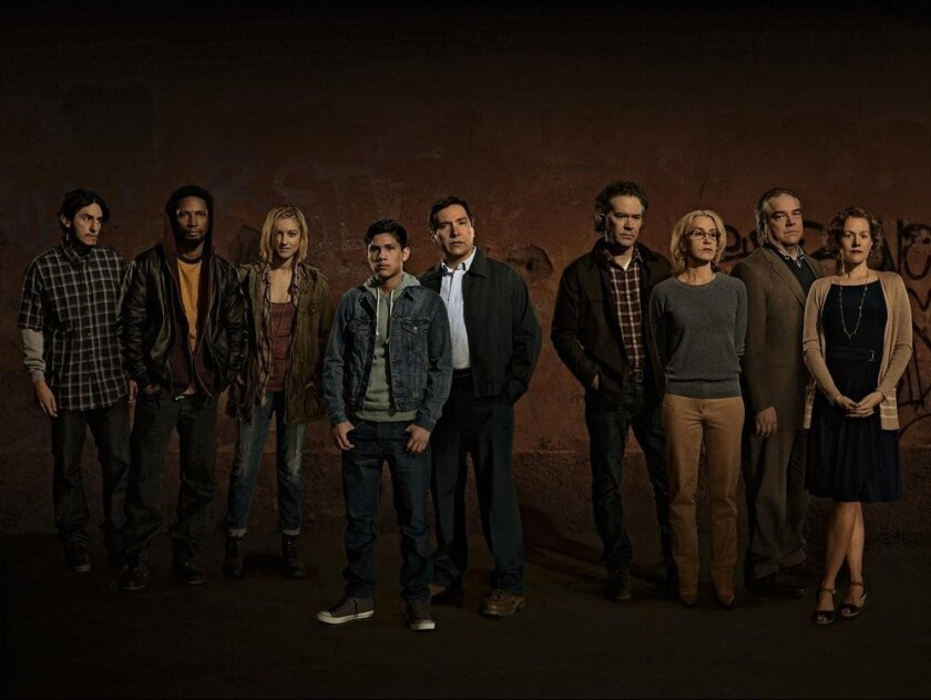 """The cast of """"American Crime"""""""