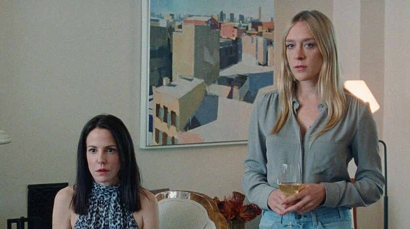 """Mary-Louise Parker and Chloë Sevigny in """"Golden Exits"""""""