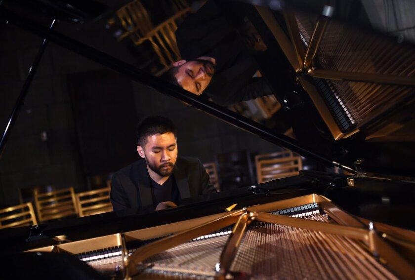 Pianist-composer Conrad Tao