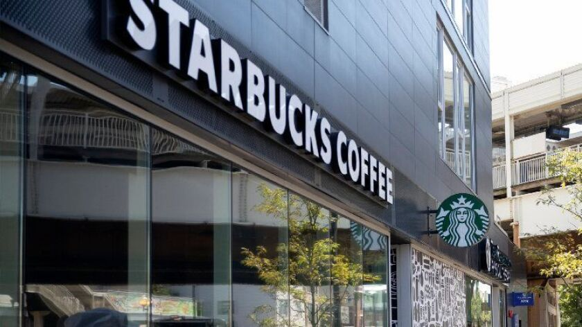 Starbucks said it is launching its delivery service, using the Uber Eats app, on Jan. 22, 2019, in San Francisco and will expand to some stores in New York, Boston, Washington, Chicago and Los Angeles in coming weeks.