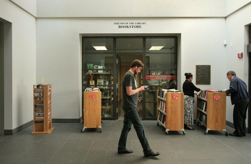 Carlsbad Library bookstore. U-T