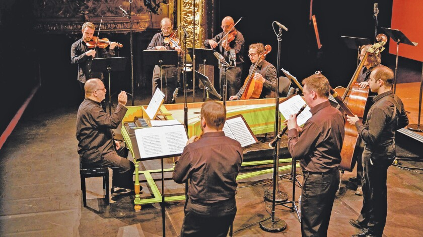 Concerto Italiano, an Italian early music ensemble, performs 7:30 p.m. Jan. 11, 2020 at St. James by-the-Sea Episcopal Church in La Jolla.